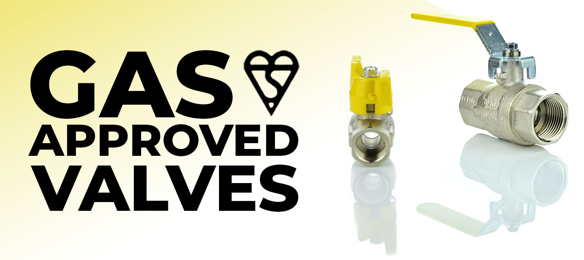 Gas Approved Valves