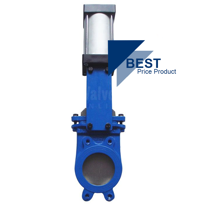 Actuated Knife Gate Valves