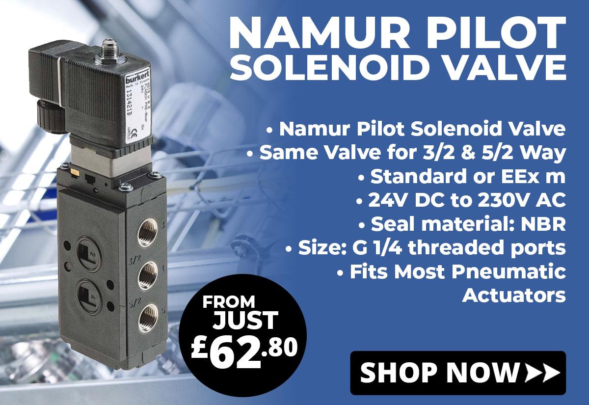Shop Pilot Solenoid Valves