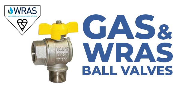 Gas and WRAS ball valves