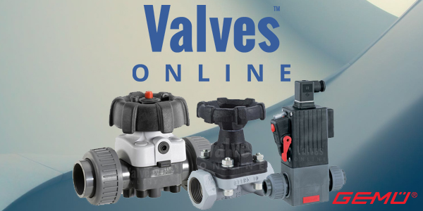 Valves Online Focus on GEMÜ
