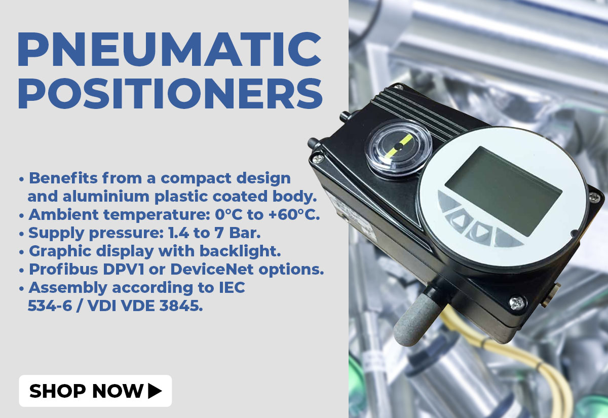 Pneumatic positioners